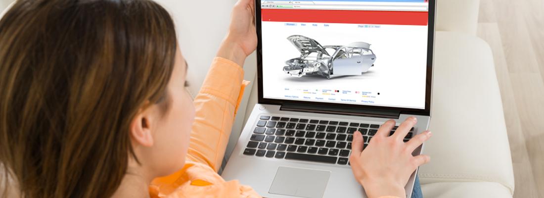 Pièce carrosserie en ligne